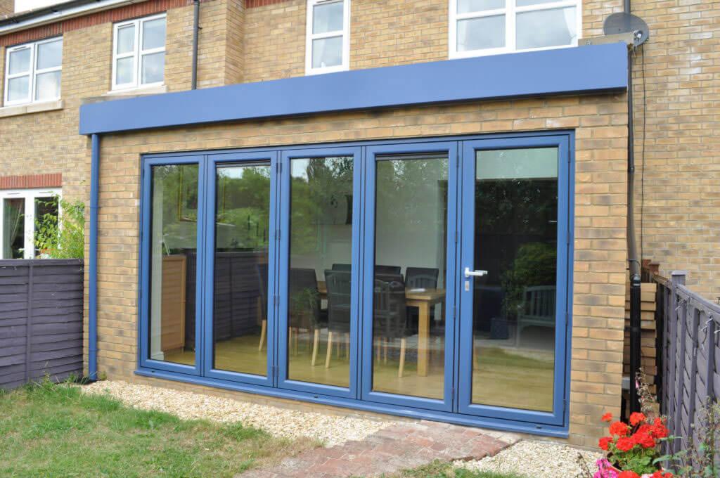 Aluminium bi-fold doors Fulham
