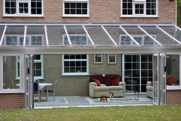 aluminium bi-fold doors Fulham london