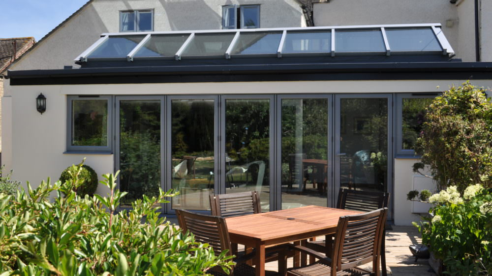 Balham aluminium bi fold doors london