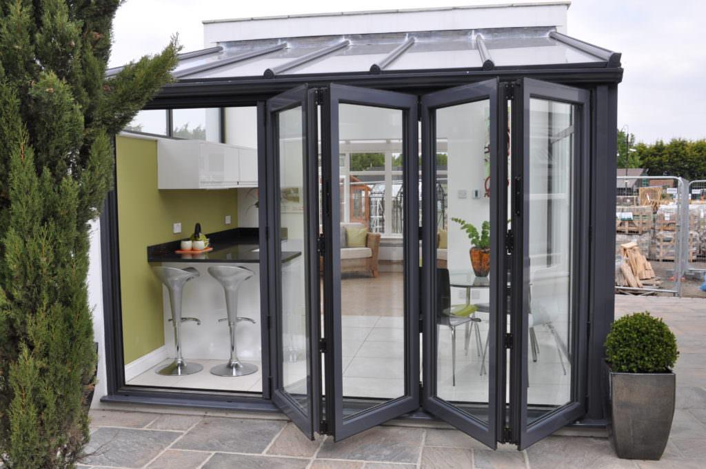 Sutton aluminium bi fold doors