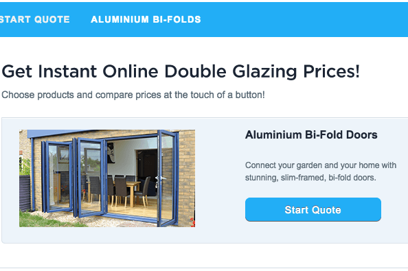 aluminium bi-fold door prices sutton