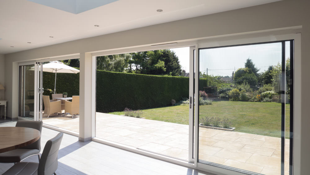 ultraslim bi-fold doors Sutton london